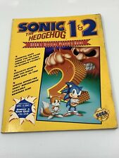 Sonic The Hedgehog 1 2 Official Player S Guide Sega Genesis Strategy Book Gear For Sale Online Ebay
