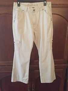 249afeeaa Arizona Jean Company 18 ½ plus Size Girls Khaki Beige Cargo Pants | eBay