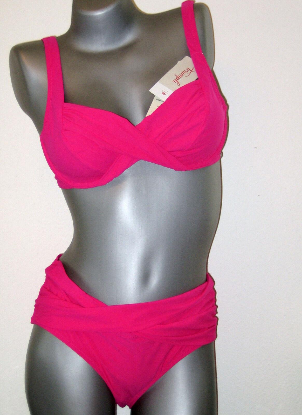 Ae Triumph Ensemble Bikini - 42 B - Coucher de Soleil Leaf W Neuf pink ( Go 38