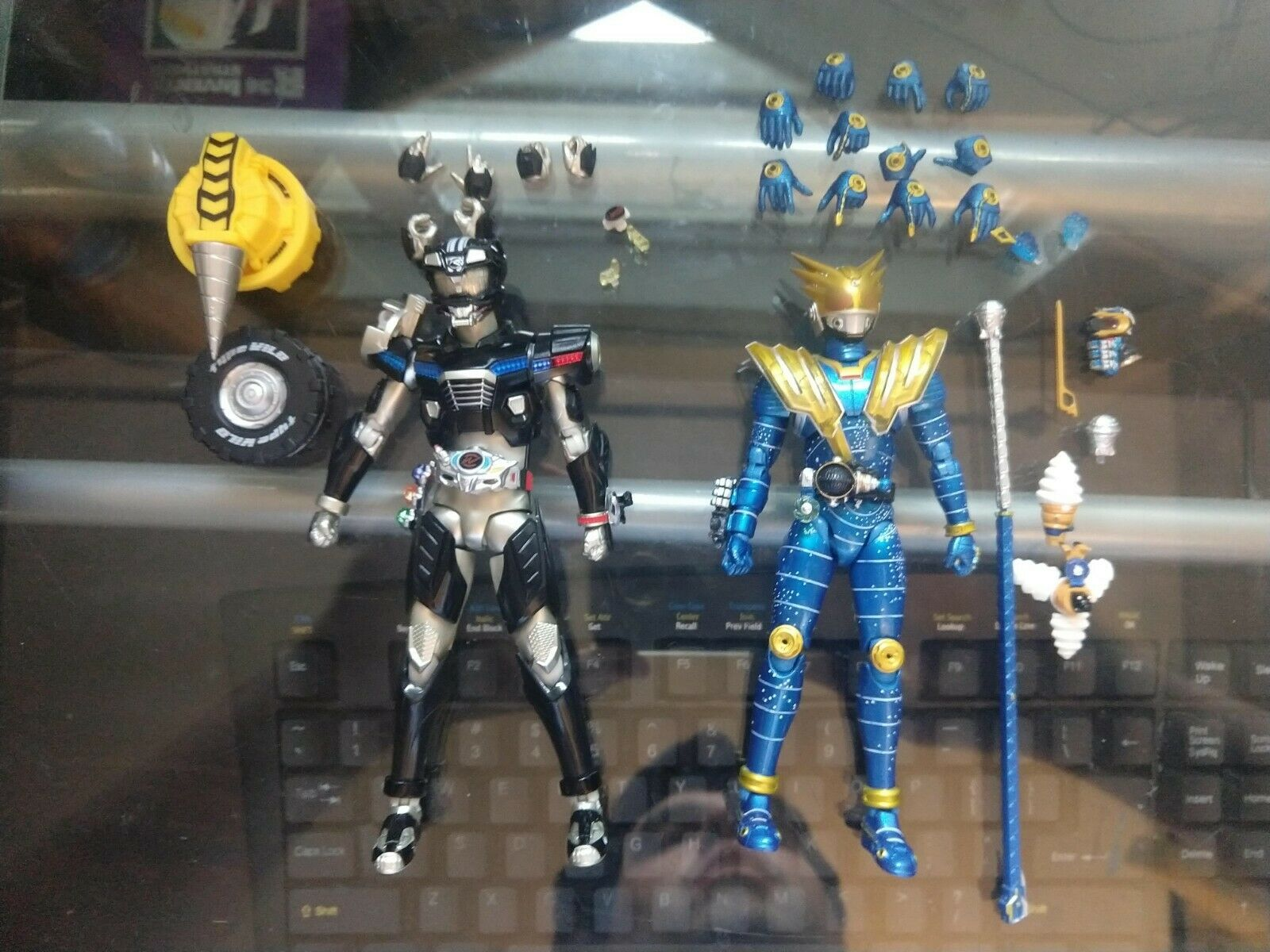 Figuarts Kamen Rider Lot Drive  Type Wild & Figuarts Kamen Rider Meteor Storm  prezzo all'ingrosso e qualità affidabile