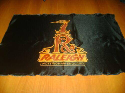 Raleigh Logo 20x30 Flag Banner Show Garage Racing Shop Deco Vintage Internationa