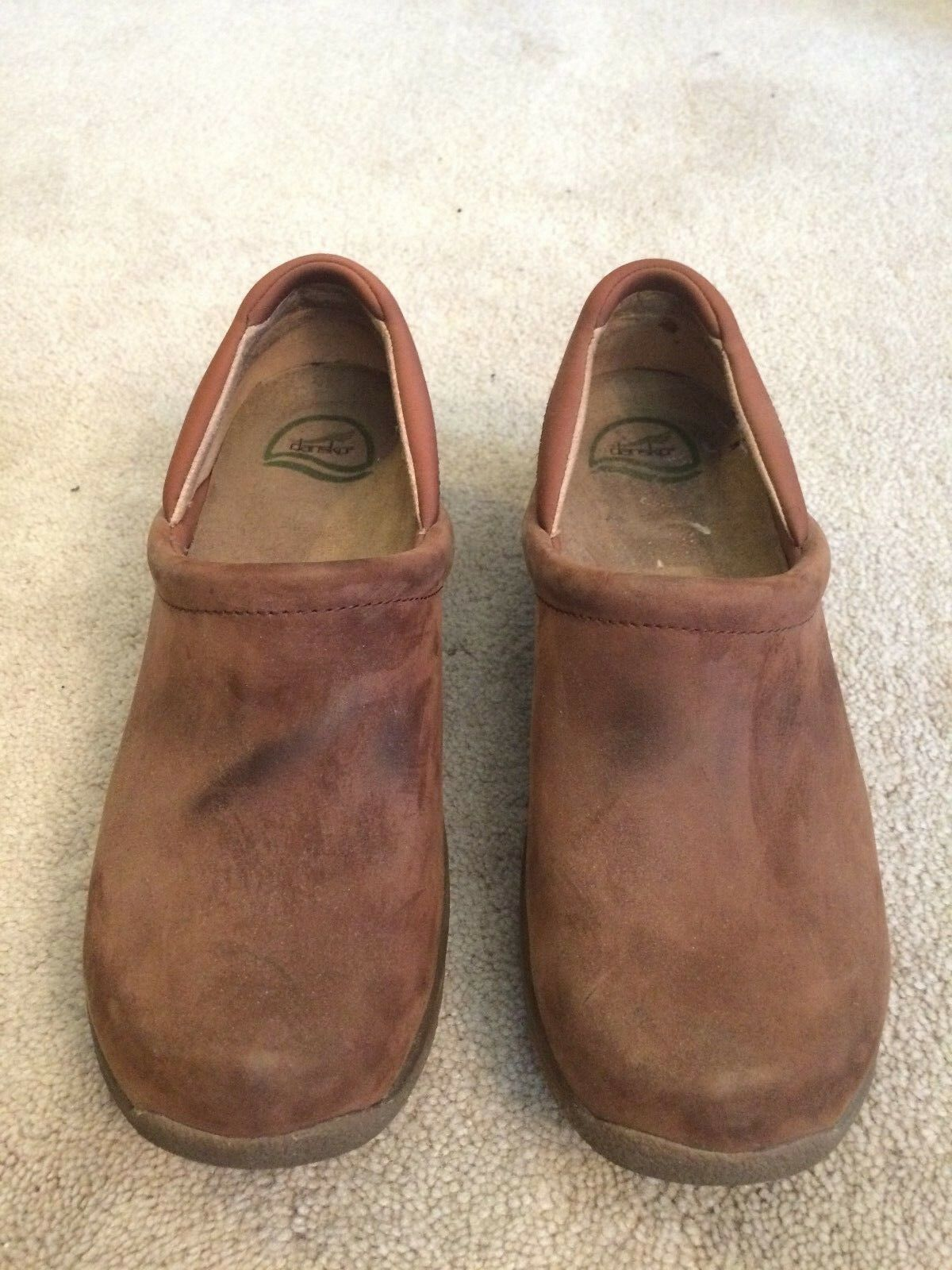 Dansko Brown Slip Resistant Clogs - 11