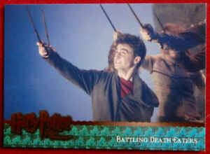 HARRY-POTTER-ORDER-OF-THE-PHOENIX-Card-077-BATTLING-DEATH-EATERS-Artbox-2007