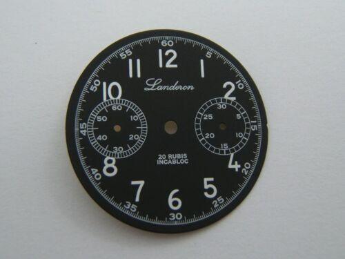 ST1901 CADRAN LANDERON STYLE MILITAIRE DIAMETRE 30MM NEUF SEAGULL TY2901