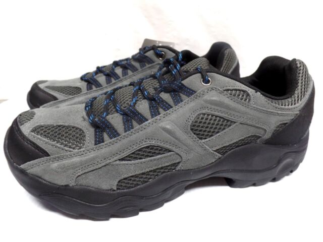 09140606d8ce Ozark Trail Mens Hiking Walking Low Top Shoe Leather Charcoal Size 9 for  sale online
