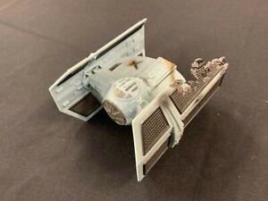 STAR WARS Micro machines Dark Vador Tie Fighter ACTION FLEET 1996 Battle Damage