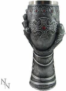 Nemesis Lion Heart Gauntlet Goblet Grail Gothic Medieval Knight Collectble