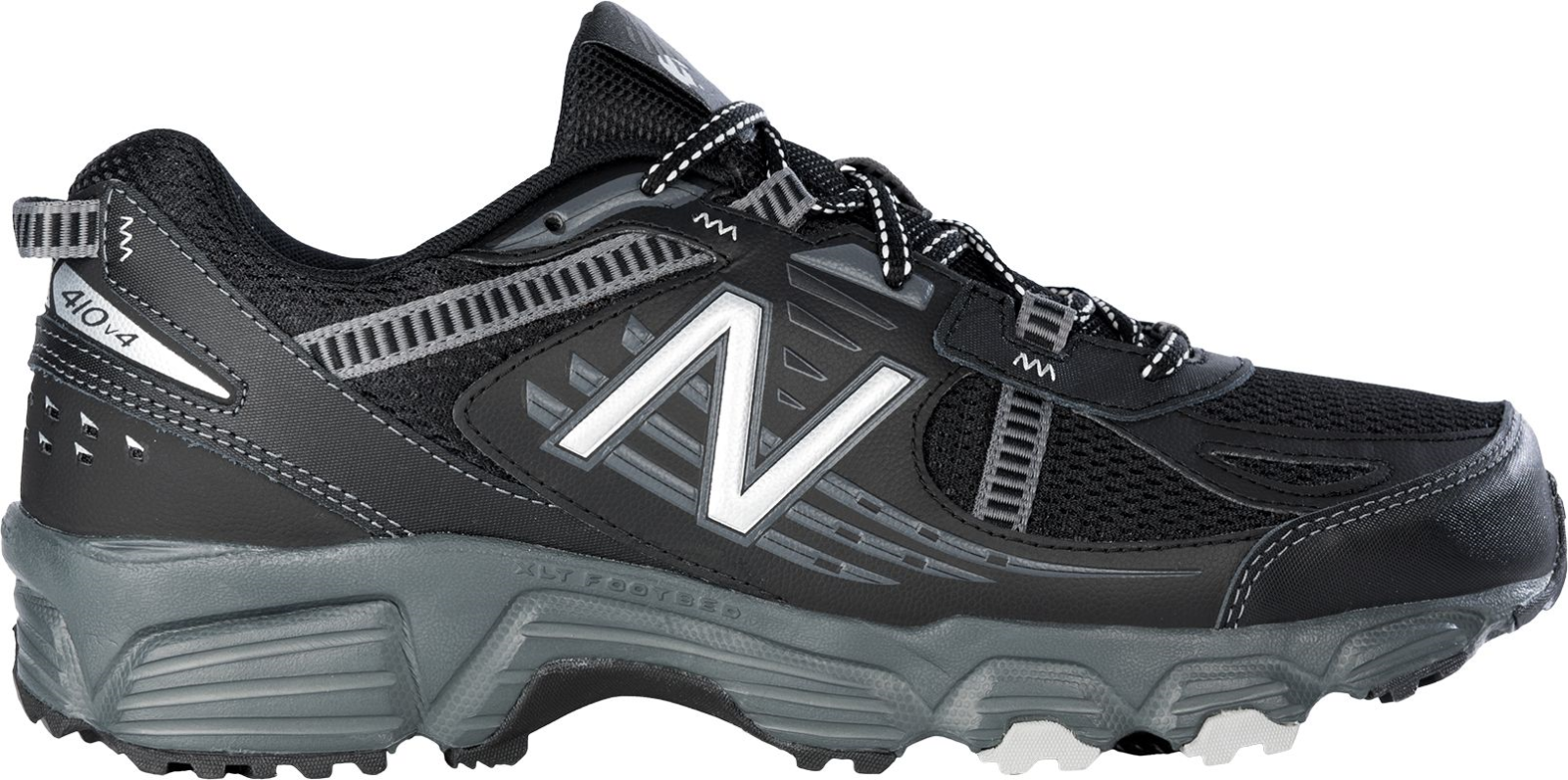 NEW BALANCE 410v4 410 v4 Trail Running MENS 4E WIDE Width Black MT410BS4 NEW
