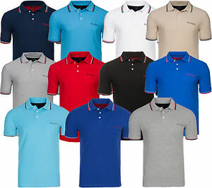 NEU Pierre Cardin Tipped Polo T-Shirt Herren Poloshirt Hemd Freizeitshirt SALE