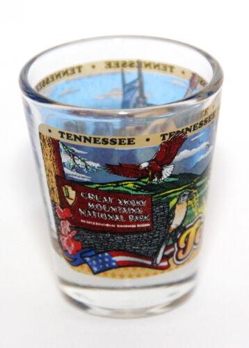TENNESSEE STATE WRAPAROUND SHOT GLASS SHOTGLASS