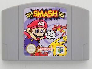 Super Smash Bros. for Nintendo 64 N64 PAL *100% GENUINE* CART ONLY Aust. Seller