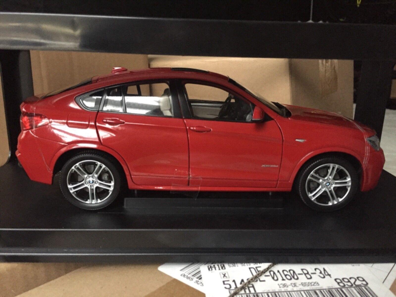 BMW x4 xDrive 35d M Paquet Rouge 1 18