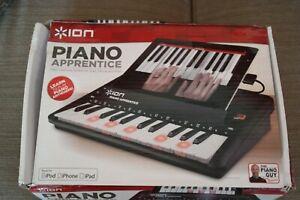 Ion Audio Piano Apprentice 25 Clés Lumineux Clavier Pour Ipad, Iphone & Ipod Comme Neuf-afficher Le Titre D'origine Nous Avons Gagné Les éLoges Des Clients