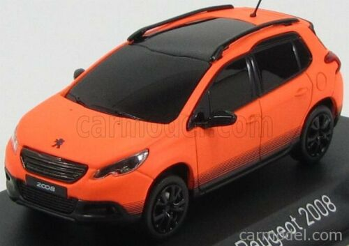 Norev 479833-14mico902 scala 1//43 peugeot 2008 crossover 2013 orange matt black