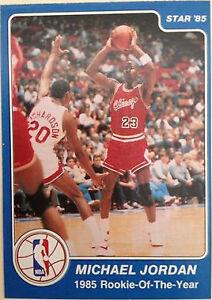 1984 Star Michael Jordan 288 Basketball Card