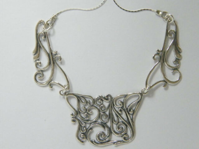 N02549 SHABLOOL ISRAEL Didae Handcrafted Sterling Silver 925 Necklace