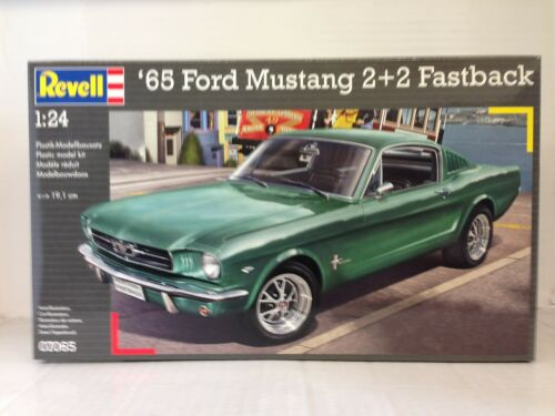 ++ Revell 07065 1965 Ford Mustang 2+2 Fastback 1:24 07065