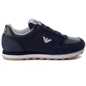 Zapatillas Ea7 Emporio Armani azul-9