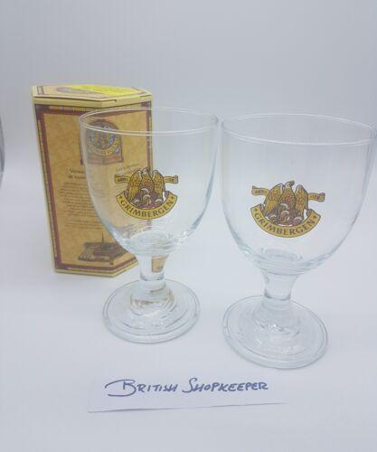 33cl 2x Grimbergen Belgian Beer Glasses in Presentaion Box