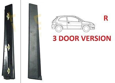 Cubierta de ajuste externo de Pilar De La Puerta Delante Izquierda Para Ford Fiesta V MK6 02-08 5-D HB