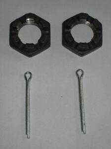 Vauxhall-Bitter-CD-5-4-Rear-Axle-Castellated-Nut-2-x-sicherungssplinte-Hub-NEW