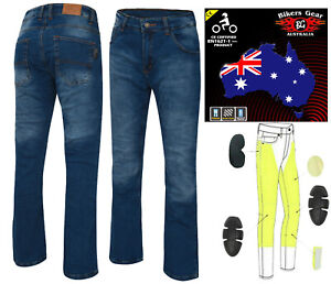 AUSTRALIAN-Bikers-Gear-Ladies-Stone-wash-Motorcycle-Jeans-with-DuPont-Kevlar