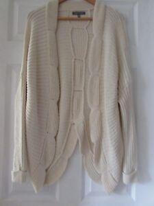 Cardigan Mix Cream Cotton 14 Laura Size Uk Vgc Ashley 5wBqSII4KR