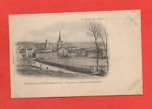 France-CRAPONNE-SUR-ARZON-Vue-prise-de-la-route-de-la-Chaise-Dieu-K865