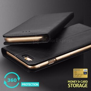 online store 83aca 36b04 Details about GENUINE IPHOX Magnetic PU Leather Wallet Flip Case Cover  iPhone 7 6 S Plus 5 SE