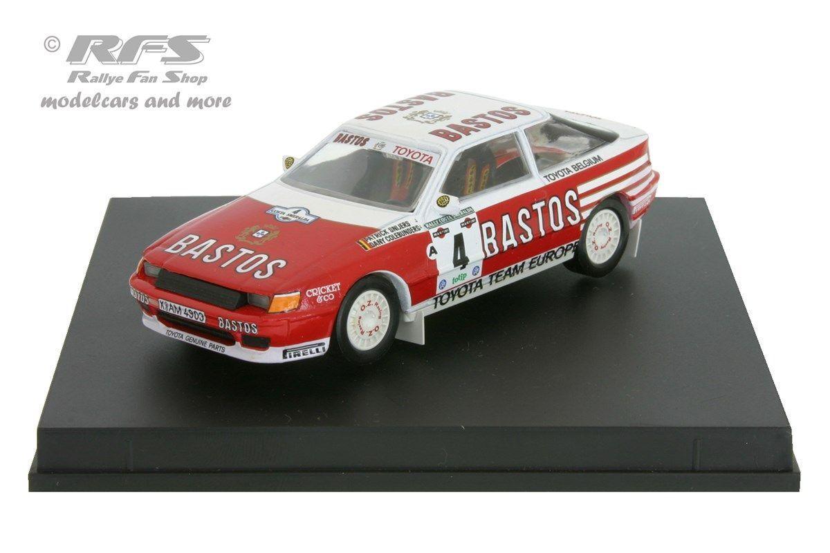 Toyota celica gt4 st165 rallye Costa smeralda 1990-snijers - 1 43 trofeu 0221