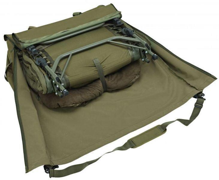 Trakker Nxg Rollbar Bett Tasche   Karpfen Fischen Angeln Gepäck