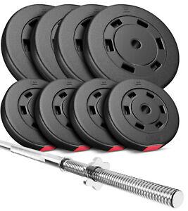 Hop-Sport-Hantelset-69kg-Langhantel-Langhantelstange-Hantelcheiben-Gewichte