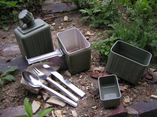 Yugoslavian Army Canteen Cookset Mess Tin Cutlery SURPLUS+stove+fuel ESBIT