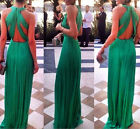Women Formal Prom Long Dress Cocktail Party Ball Gown Evening Bridesmaid Dress