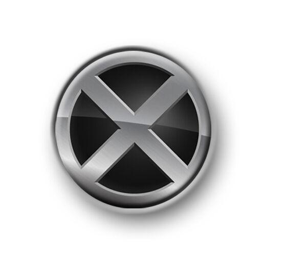 "Pin Button Badge Ø25mm 1/"" Wolverine Marvel Comics X-Men"