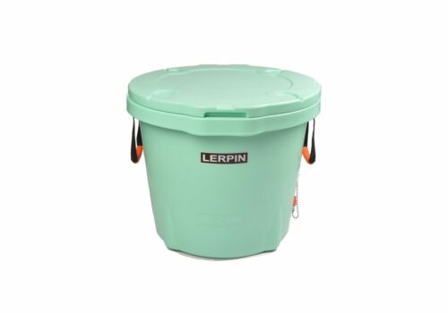 Lerpin Outdoor 70 Quart Roto-Molded Cooler//Ice Bucket LC-70QBU Seafoam Green