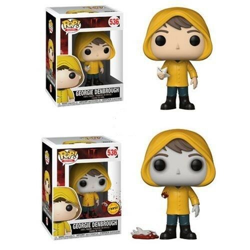 FUNKO POP IT GEORGIE WITH BOAT CHASE # 536 ON HAND READY TO SHIP MINT MOVIES