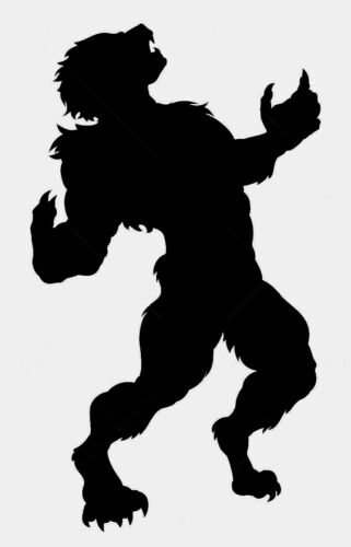 Werewolf-102 Vinyl STICKER DECAL Buy 2 get 1 Free AUTOMATICALLY
