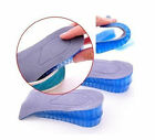 Height Increase Foot Heel Support Silicone Gel Insole Shoes Air Cushion Pads