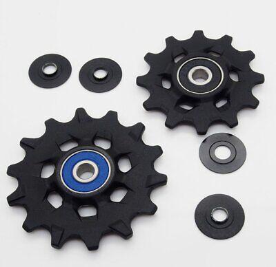 Genuine SRAM XX1//X01 Eagle 12 speed X-Sync Rear Derailleur Pulleys w// washers