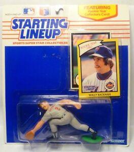 1990  WALLY BACKMAN - Starting Lineup (SLU) Baseball Figure - TWINS & NY METS