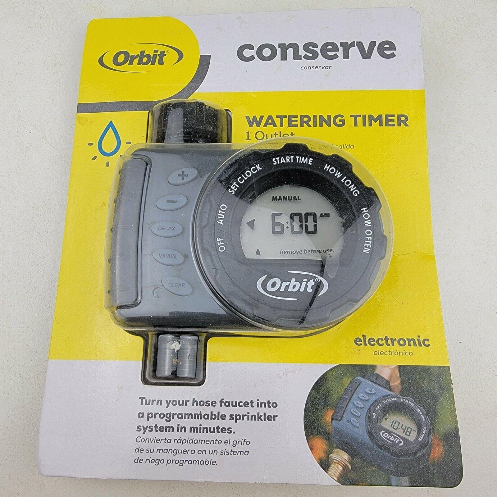 Orbit 24600 Digital Hose Sprinkler Irrigation Timer - 1 Valve Battery Powered