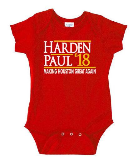 "James Harden Houston Rockets /""Harden Paul 18/"" T-Shirt"