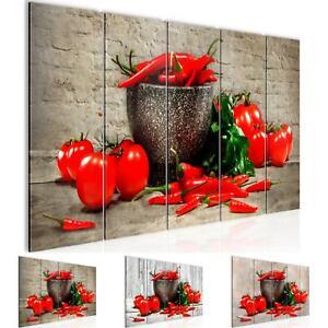 Details zu WANDBILDER XXL BILDER Küche - Gemüse VLIES LEINWAND BILD  KUNSTDRUCK 005855P