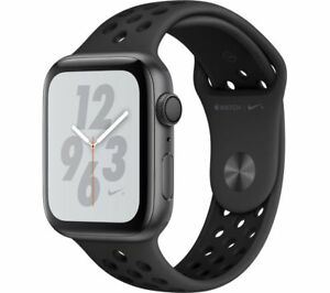 APPLE-Watch-Series-4-Nike-Space-Grey-amp-Anthracite-Sports-Band-44-mm-Currys