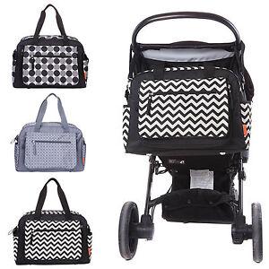 diaper bags designer cheap e2w3  Designer-Luxury-Baby-Nappy-Changing-Bag-Set-Diaper
