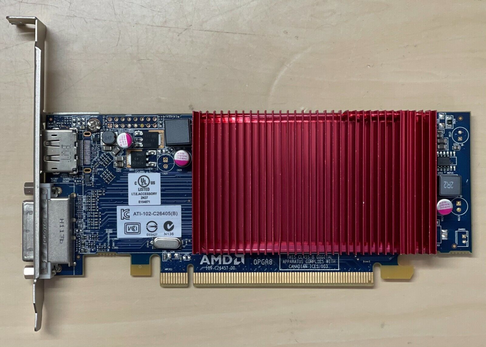 Used Dell AMD Radeon HD6450 1GB Graphic Cards 0WH7F (118)
