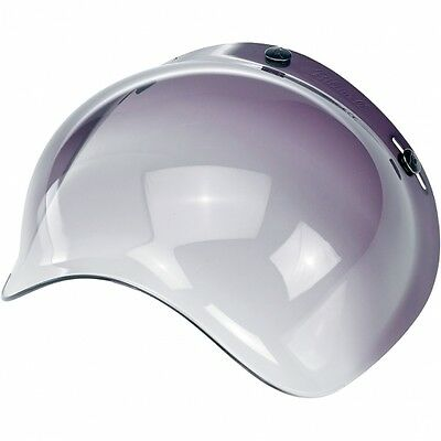 Biltwell Bubble Shield Smoke Gradient Bobber Fulmer Bell Face Shield 3/4 Helmet