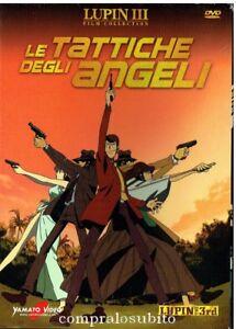 DVD-LUPIN-III-3rd-Film-Collection-LE-TATTICHE-DEGLI-ANGELI-Nuovo-sigillato