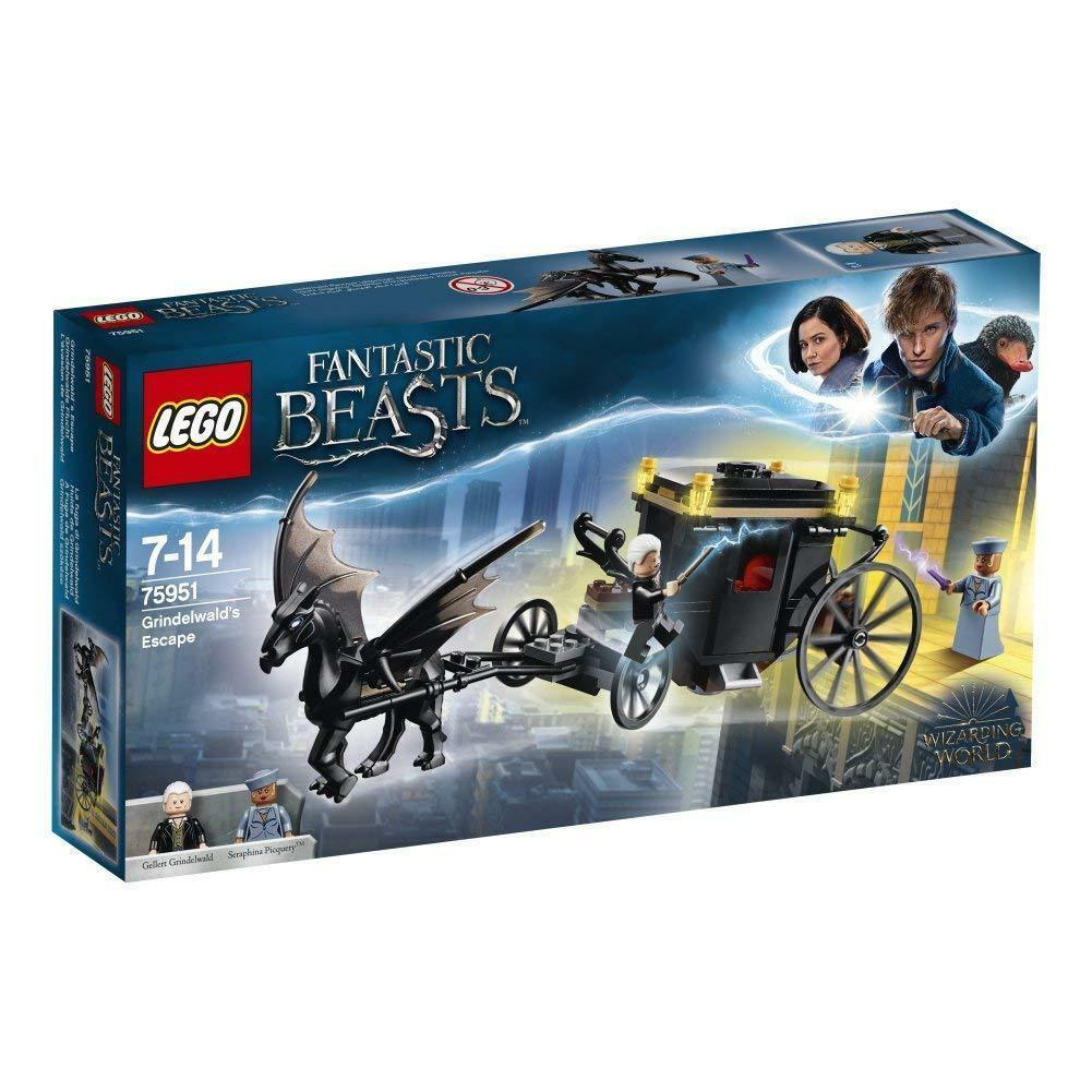 LEGO 75950 World of Wizards  Grindelwald´s Escape